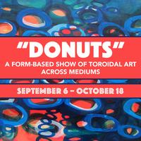 'DONUTS'  A TOROIDAL ART SHOW
